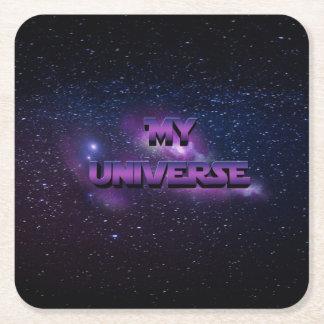Mein Universum Rechteckiger Pappuntersetzer