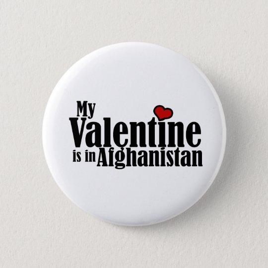 Mein Valentinsgruß ist in Afghanistan Runder Button 5,1 Cm