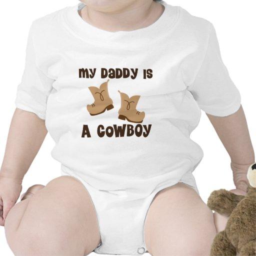 Mein Vati ist eine Cowboy-Geschenk-Idee Strampelanzüge