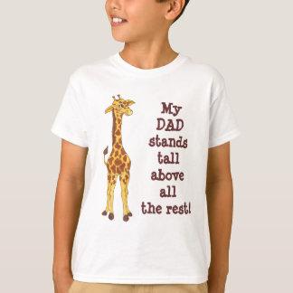 Mein VATI steht hohe Giraffe - kundengerechten T - T-Shirt