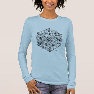 Mein Weg (ein Rumi inspirierter Mandala) Langarm T-Shirt