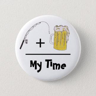 Mein Zeit-Knopf Runder Button 5,1 Cm