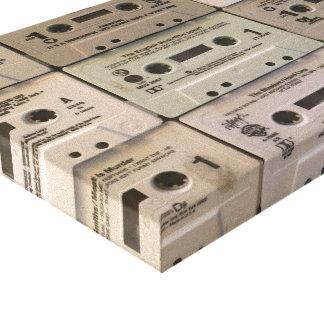Meine alten Kassetten Leinwanddruck