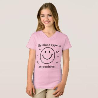 Meine Blutgruppe ist B+ T-Shirt