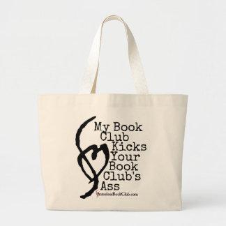 Meine Buchgemeinschaft tritt den Esel Ihrer Jumbo Stoffbeutel