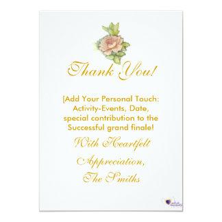 Meine Dankbarkeit besonders für Sie! - Fertigen 12,7 X 17,8 Cm Einladungskarte
