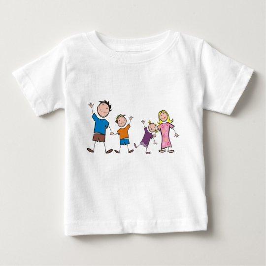 Meine Familie und ich - Baby-T - Shirt