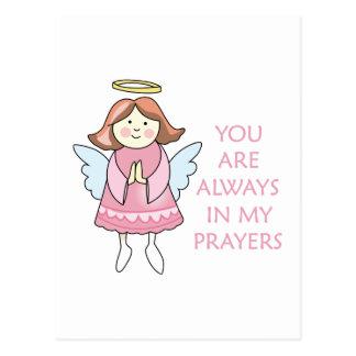 Meine Gebete Postkarte