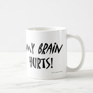 Meine Gehirn-Schmerzen! Kaffeetasse