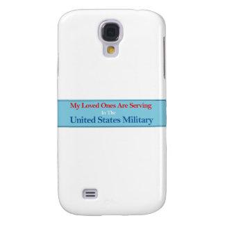 Meine geliebten dienen im US-Militär Galaxy S4 Hülle