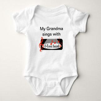 """""""Meine Großmutter singt mit """" Baby Strampler"""