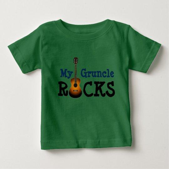 """Meine Gruncle Felsen! "" Baby T-shirt"