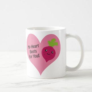 Meine Herz-roten Rüben für Sie Kaffeetasse