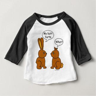 Meine HinternHurts! - Was? Baby T-shirt