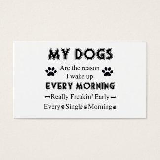Meine Hunde Visitenkarte