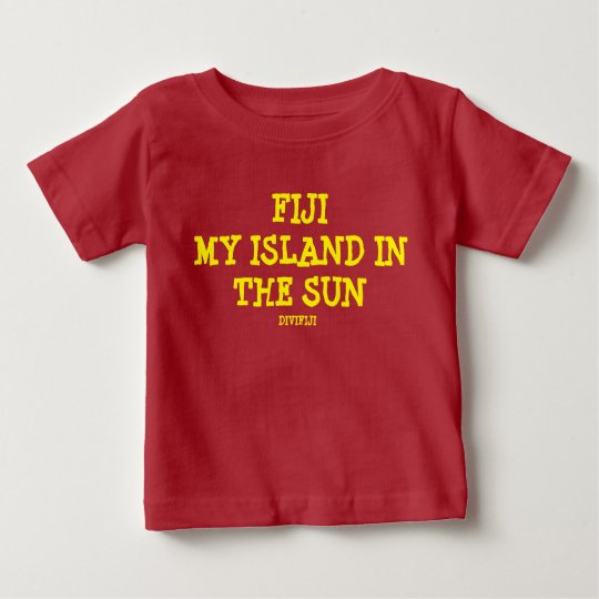 Meine Insel in The Sun Baby T-shirt