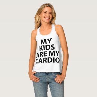 Meine Kinder sind mein Herz Behälter Tanktop