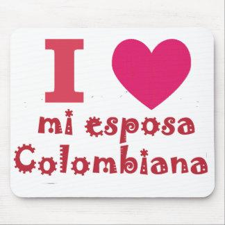 Meine Liebe meine Kolumbianische Ehefrau Mousepad