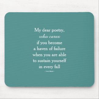 Meine liebe Poetry Mousepad