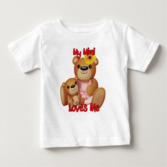 Meine Lieben Mimi ich Teddy-Bär Baby T-shirt