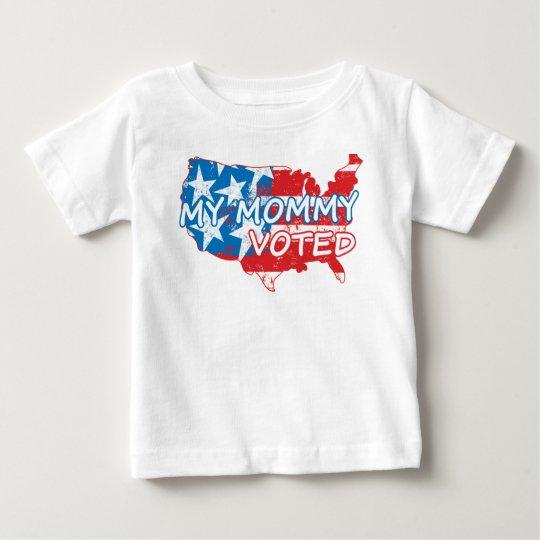 Meine Mama gewählt Baby T-shirt