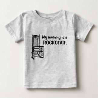 Meine Mama ist ein rockstar! Baby T-shirt