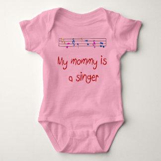 Meine Mama ist ein Sänger T-shirt