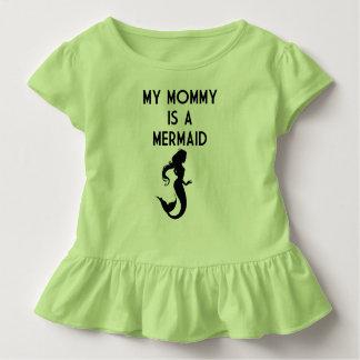 Meine Mama ist eine Meerjungfrau Kleinkind T-shirt