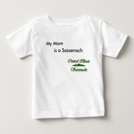 Meine Mamma Baby T-shirt