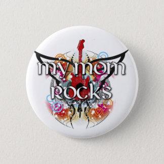Meine Mamma-Felsen Runder Button 5,7 Cm