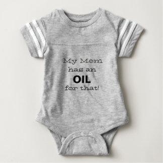 Meine Mamma hat ein Öl für die! Baby Strampler