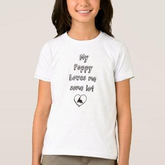 Meine Mohnblumen-Lieben ich irgendein Los T-Shirt