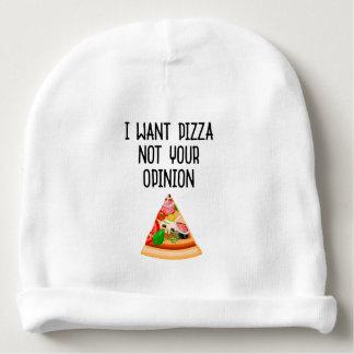 Meine Pizza Babymütze