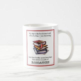Meine Reise zur Buchhandlung… Kaffeetasse