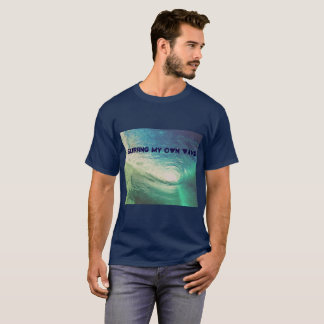 """""""Meine Selbst surfend Welle"""" inspiriert durch T-Shirt"""