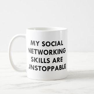 Meine Sozialvernetzung Kaffeetasse