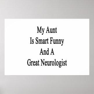 Meine Tante Is Smart Funny und ein großer Poster