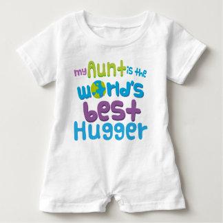 Meine Tante ist der Weltbeste Hugger Baby Strampler