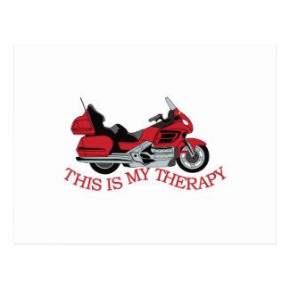 Meine Therapie Postkarte