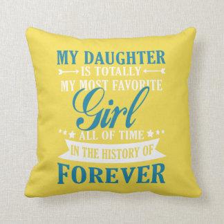 Meine Tochter für immer Kissen