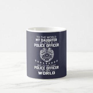 MEINE TOCHTER IST MEIN POLIZEIBEAMTE KAFFEETASSE