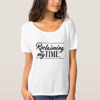 """""""Meine Zeit zurückfordernd"""" politisch T-Shirt"""