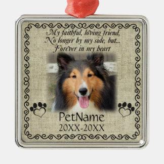 Meine zuverlässiger silbernes ornament