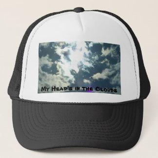 Meines Kopfes im Wolken-Hut Truckerkappe