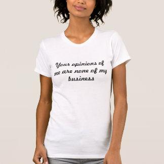 Meinungen T-Shirt