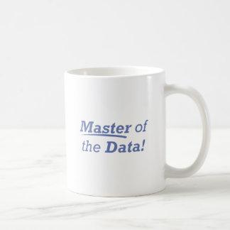 Meister der Daten! Tasse