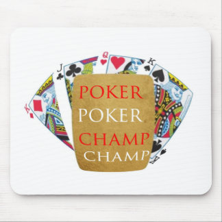 Meister des Poker-ART101 - Zazzle PlayingCards Mousepads
