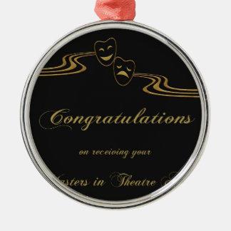 Meister in den Theater-Künsten, Glückwünsche, Silbernes Ornament