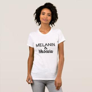 MELANIN u. Wimperntuschen-T - Shirt