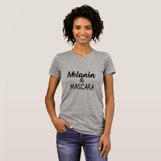 Melanin-und Wimperntuschen-T - Shirt